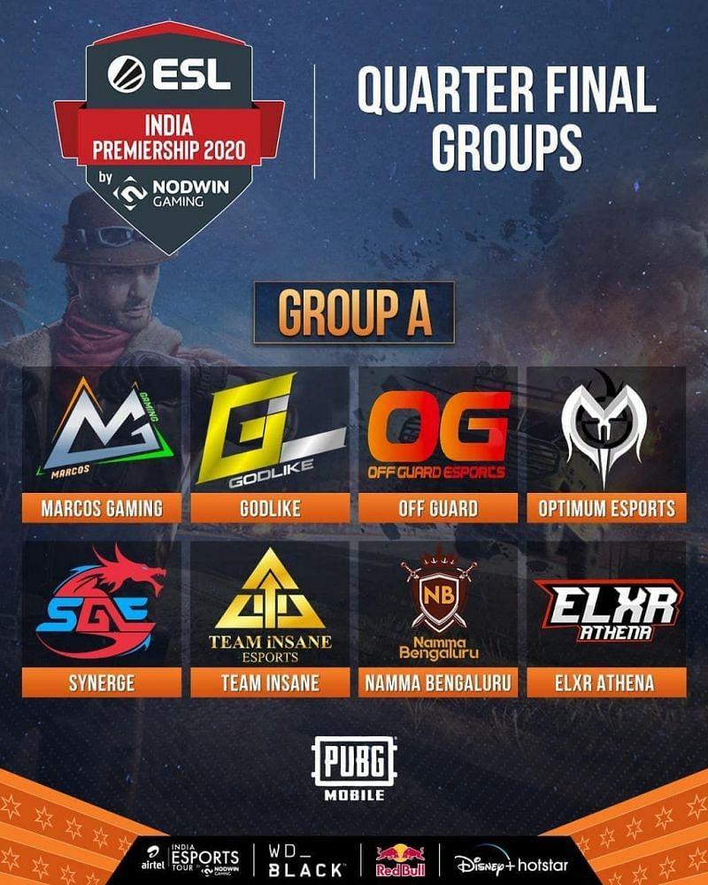 PUBG Mobile ESL India Premiership