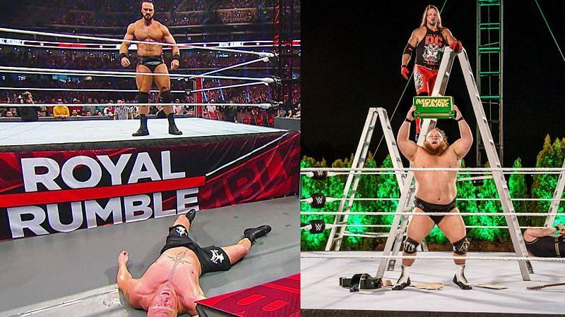 इस साल WWE ने कई चौंकाने वाले फैसले लिए