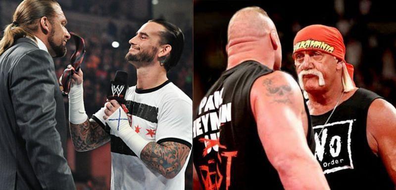 ये WWE सुपरस्टार्स साथ काम करने को बिलकुल भी तैयार नहीं थे।