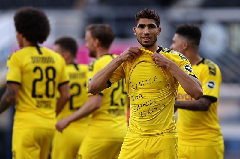 Achraf Hakimi has been one of Borussia Dortmund