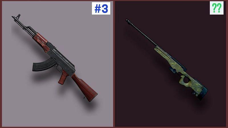5 Best Guns In PUBG Mobile