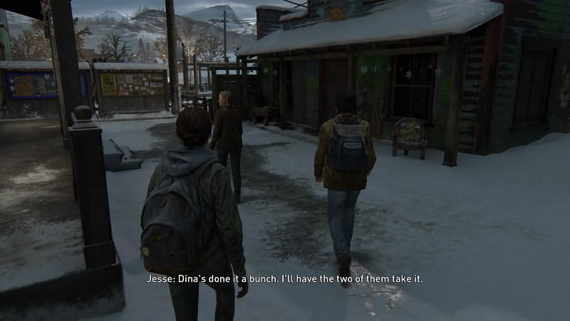 The Last of Us Part II Gameplay screenshot