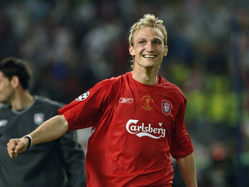 Sami Hyypia supported Liverpool since he was a kid.