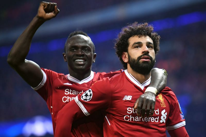 Liverpool would be half the team without their star wing-duo Sadio Mane (left) and Mohamed Salah (right).
