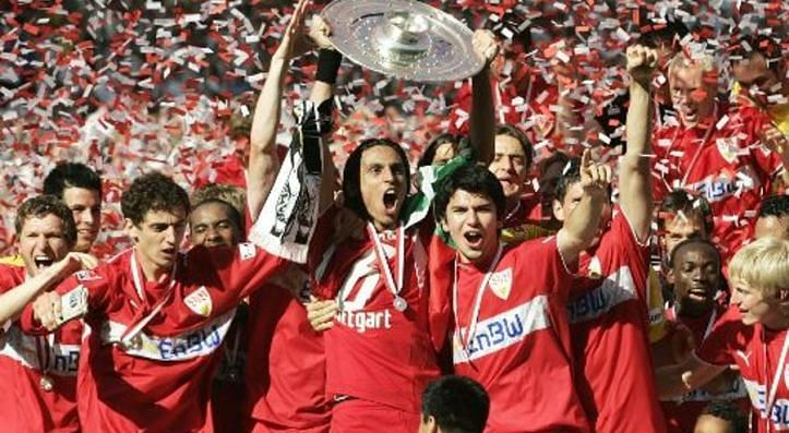 Stuttgart bested Schalke to win the Bundesliga title in 2007.