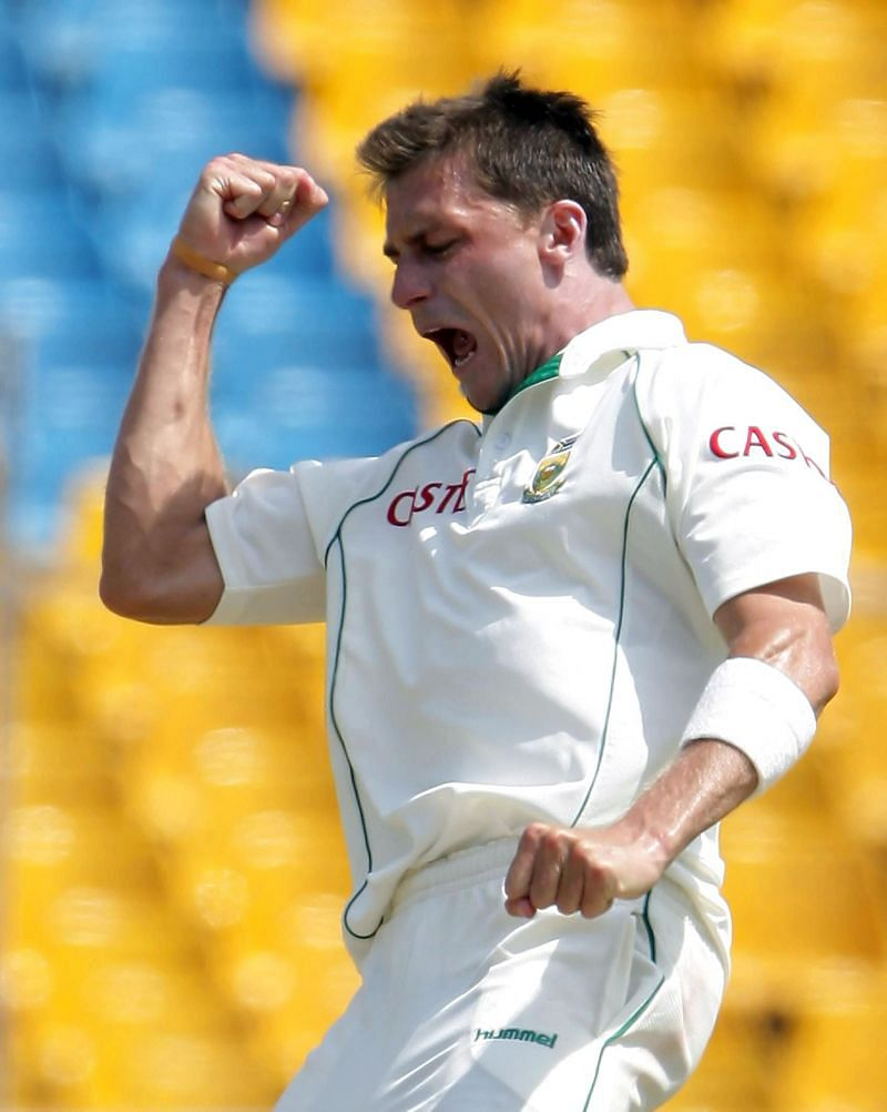 डेल स्टेन ने मैच में लिए 8 विकेट