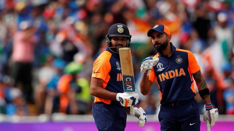 Rohit Sharma and Virat Kohli put up yet another century stand in the match vs England in CWC 2019