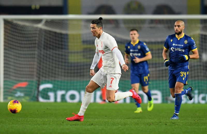 Cristiano Ronaldo will be looking forward to the Serie A restart