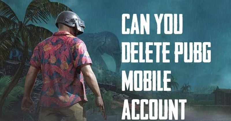 Can you permanently delete a PUBG mobile account?