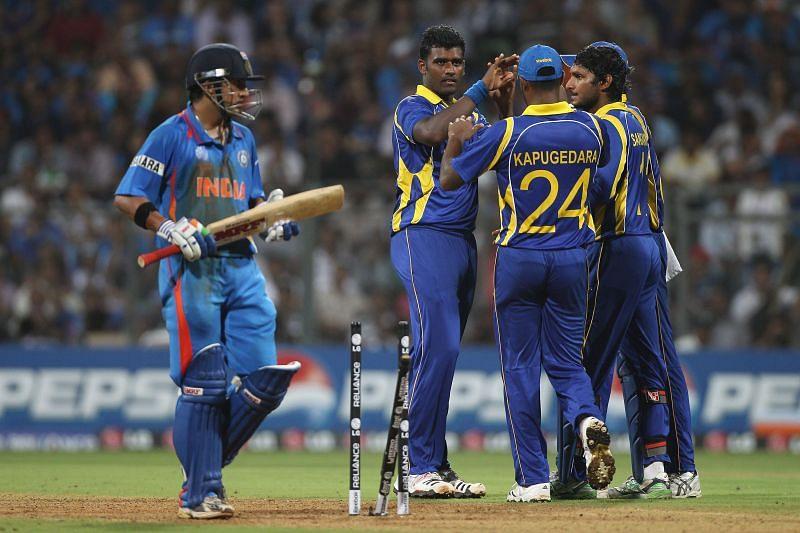 भारत और श्रीलंका के बीच खेला गया था 2011 वर्ल्ड कप का फाइनल