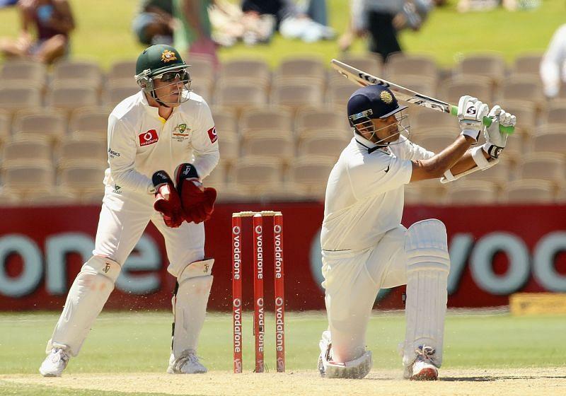 राहुल द्रविड़ अपने आखिरी टेस्ट में कुछ खास नहीं कर पाए थे