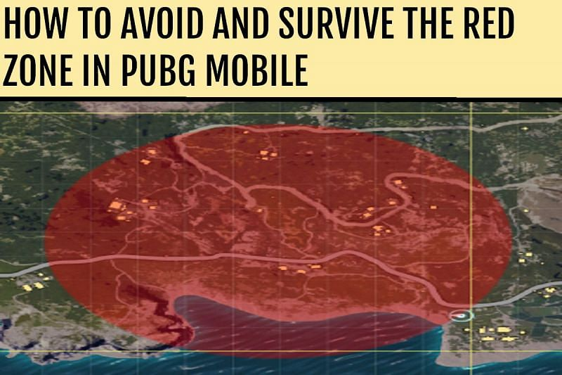 How to avoid and survive the red zone in PUBG Mobile (Picture source: pubg.gamepedia.com)