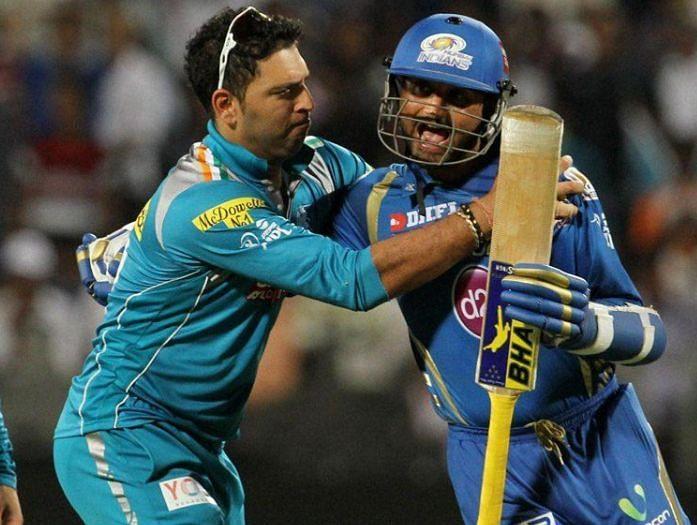 हरभजन सिंह ने आईपीएल का पोस्ट करते हुए किया युवराज सिंह को ट्रोल