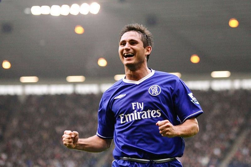 Frank Lampard made his name as a player with Chelsea.