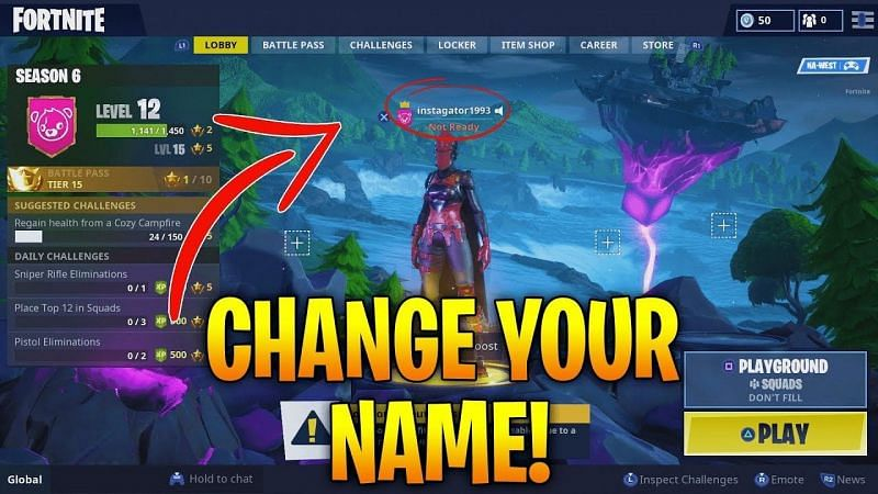 How To Change Your Username In Fortnite Fortnite name change is easy. how to change your username in fortnite