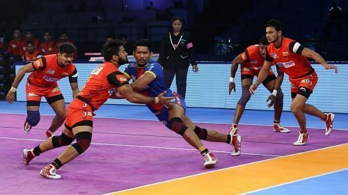 Mahender Singh has been a sturdy presence in the Bengaluru Bulls