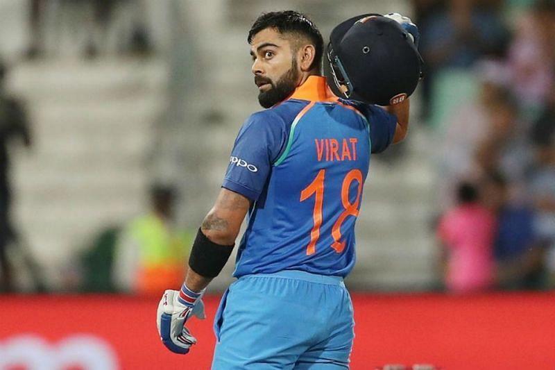 Virat Kohli scored 584 runs in his first 15 ODI innings