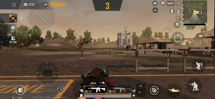 Cheer Park in PUBG mobile.