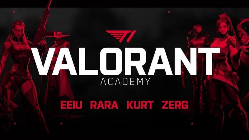 Valorant Academy; Image Courtesy: T1