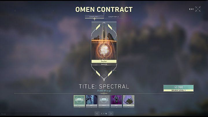 Valorant Omen agent contract (Image Credits: Game Guides)