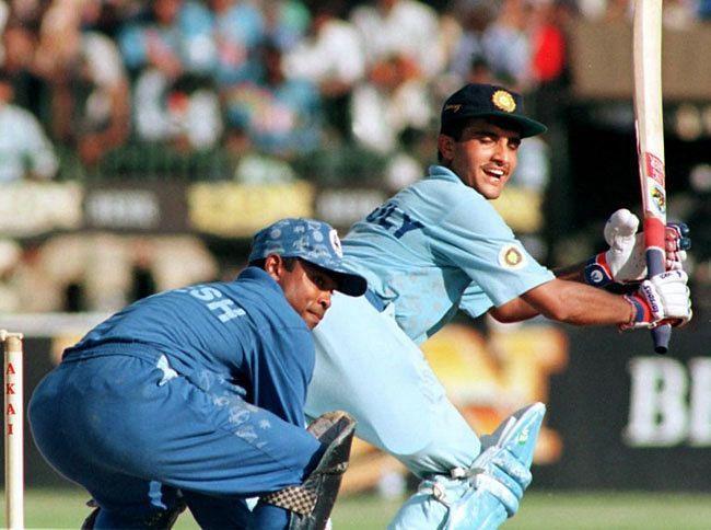 सौरव गांगुली ने सचिन तेंदुलकर के साथ पहले विकेट के लिए रिकॉर्ड 252 रनों की साझेदारी निभाई थी (Photo - TOI)