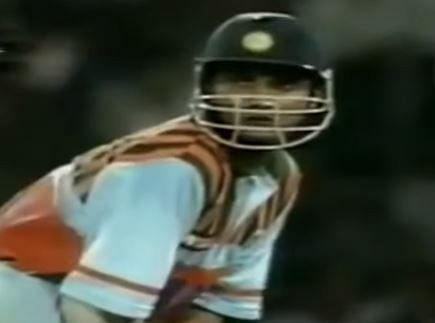 सौरव गांगुली के पहले शतक के बावजूद भारत को श्रीलंका खिलाफ हार का सामना करना पड़ा था (Screenshot)