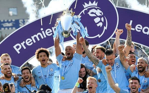 Manchester City are the reigning Premier League champions