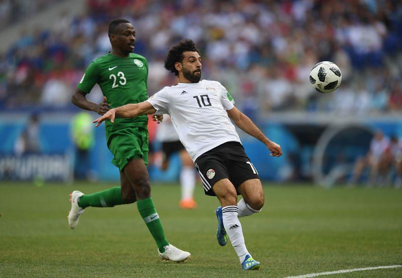 Salah led Egypt to the 2018 World Cup