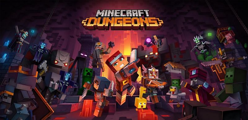 Minecraft Dungeons is available on Xbox One, Microsoft Windows, PS4 and Nintendo Switch