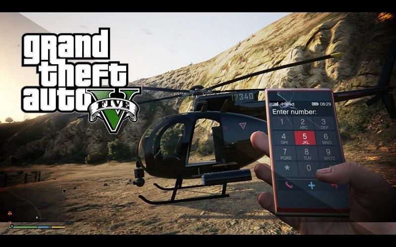 Use your cell phone in GTA 5. Image: gta 5.