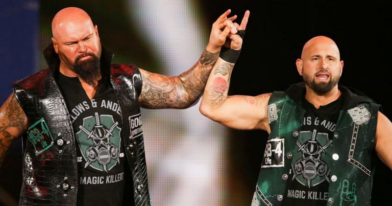 Gallows and Anderson are on the move!