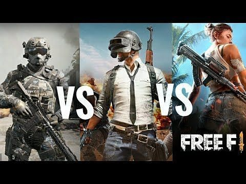 Free Fire has often been compared to PUBG Mobile and Call of Duty. Image: YouTube.