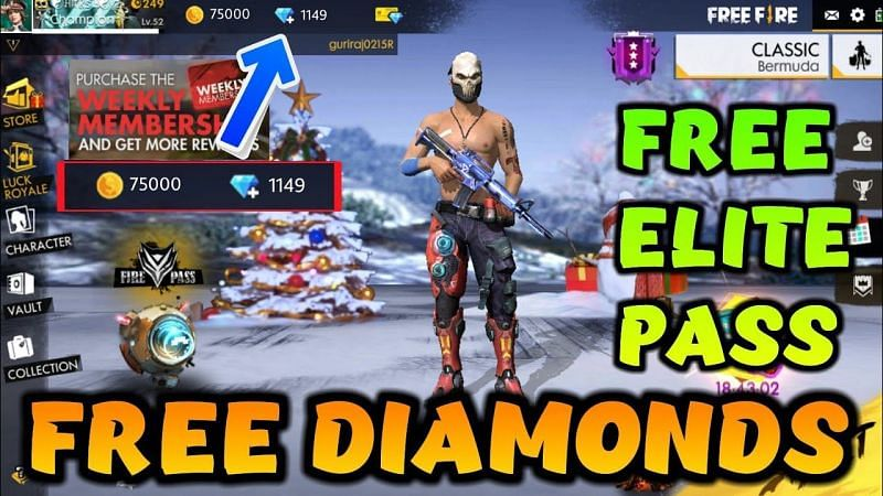 Free Fire How To Get Free Diamonds In Free Fire Ob22 Update