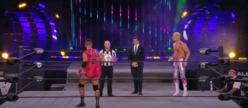 Ricky Starks challenges Cody Rhodes on AEW Dynamite