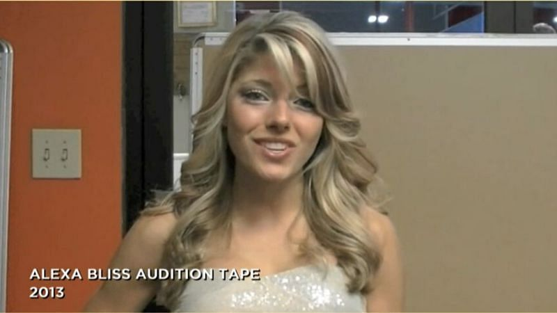 Alexa Bliss had to send in an audition tape!