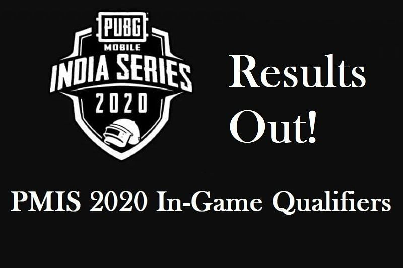 PMIS 2020 In-Game Qualifers Results Declared
