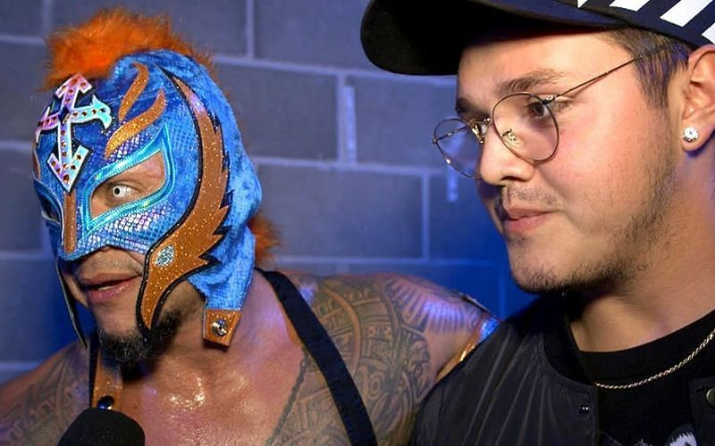 Dominik and Rey Mysterio have been training hard