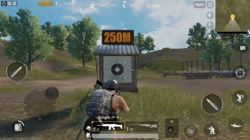 The players can practice in the training room present in PUBG Mobile