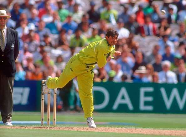 Saqlain Mushtaq brought the Doosra into vogue in international cricket