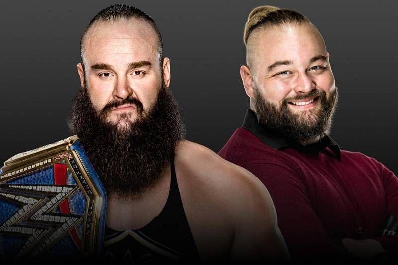 WWE के यूनिवर्सल चैंपियन ब्रॉन स्ट्रोमैन और ब्रे वायट