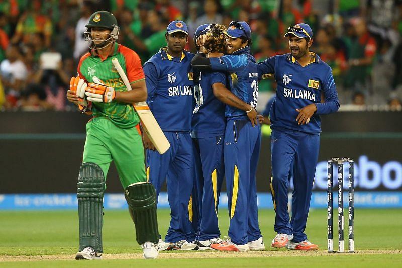 Sri Lanka v Bangladesh - 2015 ICC Cricket World Cup