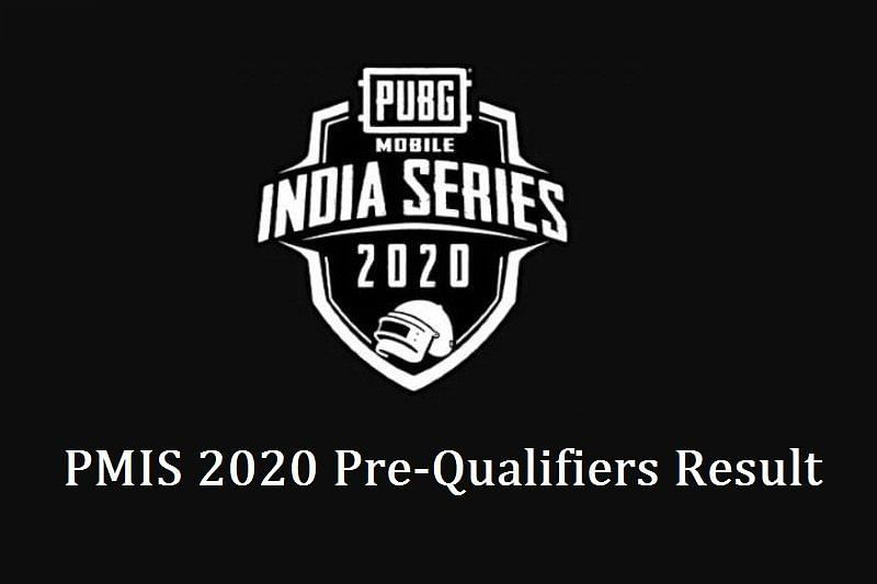 PUBG Mobile India Series 2020 Pre-Qualifiers Results
