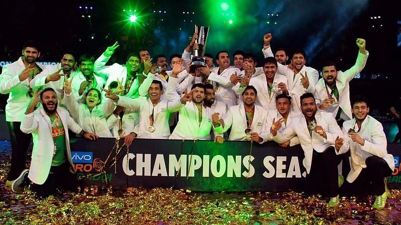 Patna Pirates completed a three peat in the PKL in Season 5.