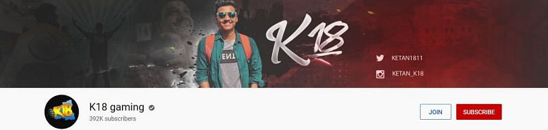 I have 392k subscribers on Youtube