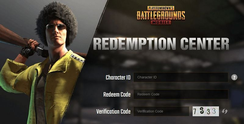 Redemption Center - The players have to redeem the code from here