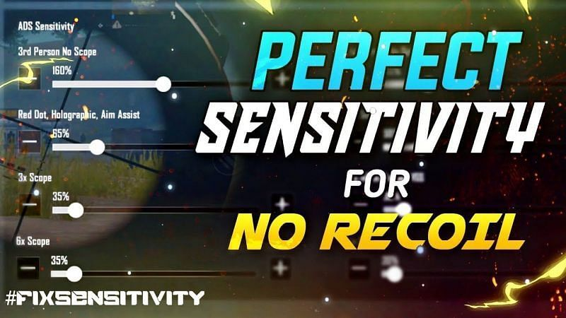 Best ADS settings in PUBG Mobile (Picture Courtesy: Joriya Gaming/YT)