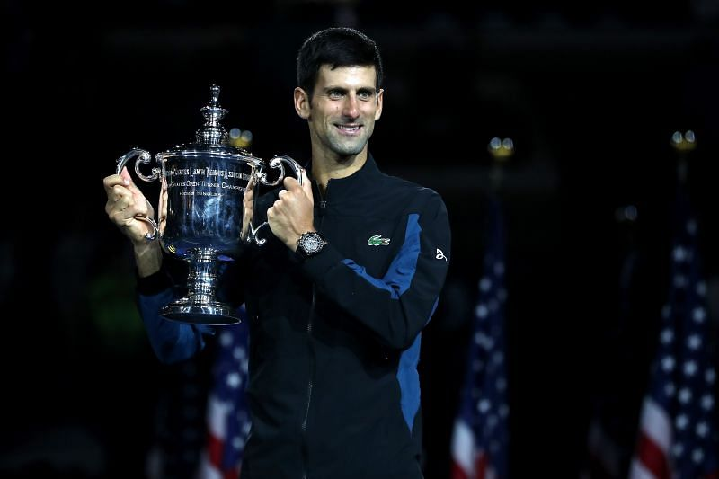 Novak Djokovic won the US Open title in 2018