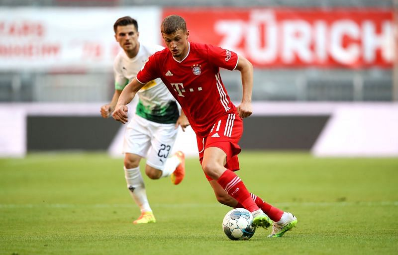 The Frenchman was handed his full Bayern Munich debut by Hansi Flick