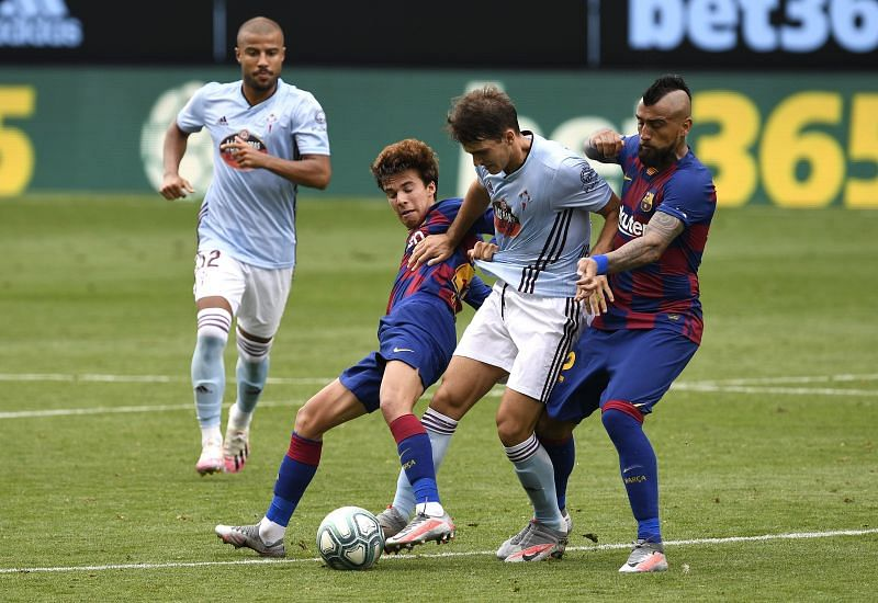 Riqui Puig was one of the few bright spots for Barcelona today
