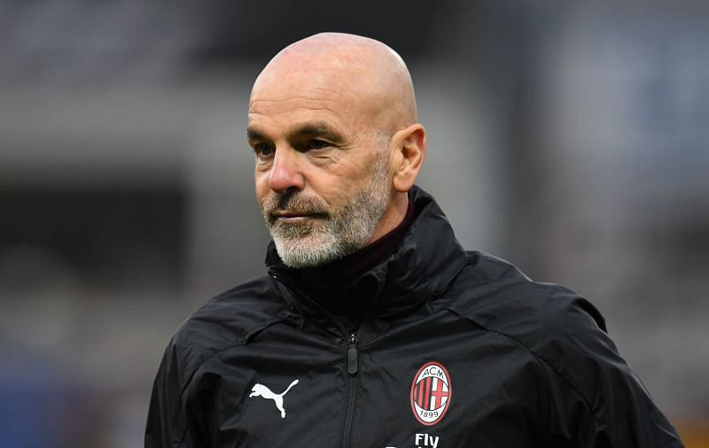 Manager Stefano Pioli is under huge pressure at AC Milan